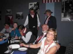 The 2009 national Meet Committee at the prizegiving night at the Taupo National Model A Rally Easter 2009.JPG