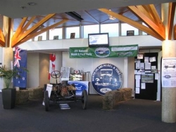 The rally HQ at the Great Lakes Centre at the Taupo National Model A Rally Easter 2009.JPG