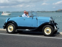 Charlie Bowdens 1930 Roadster.