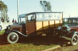 The North Island Model A Ford Club 1930 AA Bus as finished in 1982, first coloured Brown, later Red..jpg