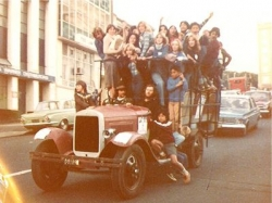 The North Island Model A Ford Club 1930 AA Bus as used on the charity day for Telethon in 1978..jpg